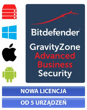 Bitdefender GravityZone Advanced Business Security - nowa licencja