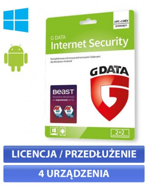 G Data Internet Security (2+2)