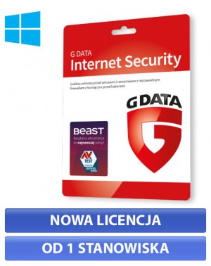 G Data Internet Security - nowa licencja